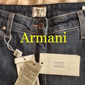 Armani Collezioni Womens Jeans 12 NWT
